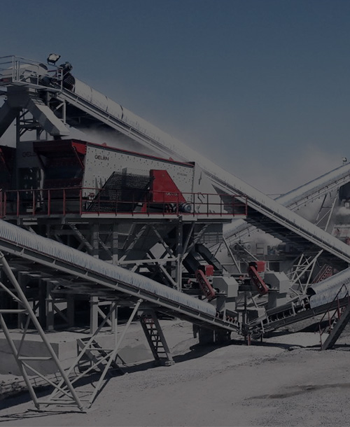 The technology of crushing and screening